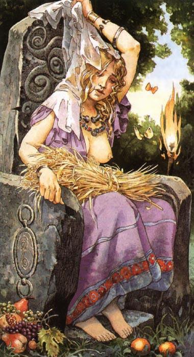 Бригит | Кельтская мифология