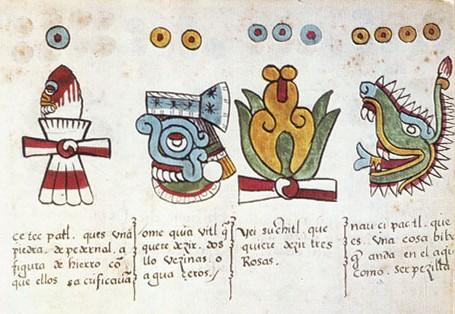 Кодекс Мальябекки | Мифология Ацтеков