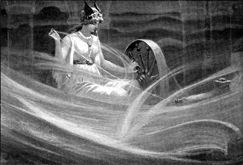 Фригг | Скандинавская мифология