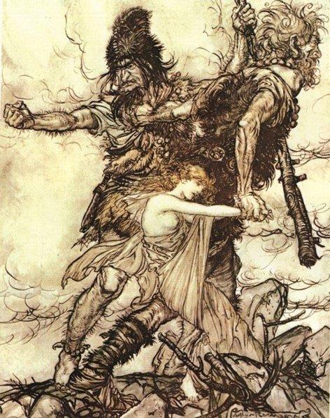 Ётуны | Скандинавская мифология