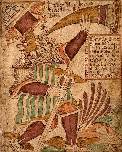 Хеймдалль   Скандинавская мифология