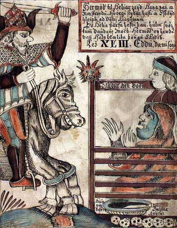 Хермод | Скандинавская мифология