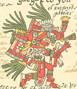 Уэуэкойтль   Мифология Ацтеков