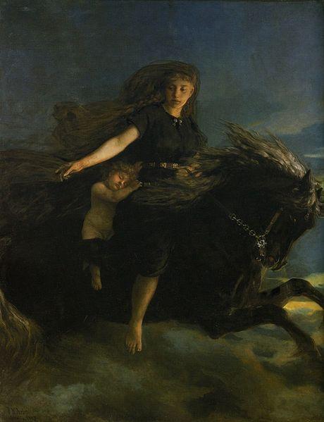 Нотт | Скандинавская мифология