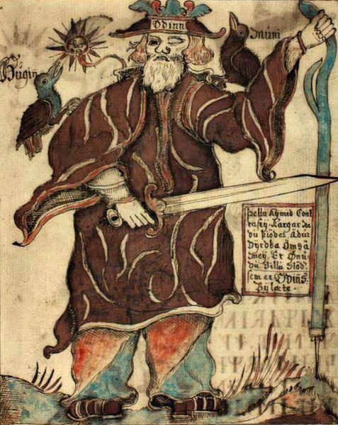 Один | Скандинавская мифология