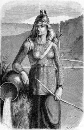 Скади   Скандинавская мифология
