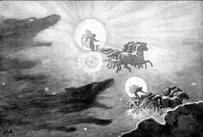 Мани | Скандинавская мифология