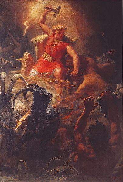 Тор | Скандинавская мифология
