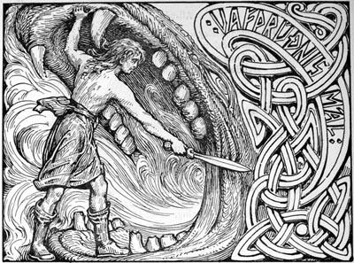 Видар | Скандинавская мифология