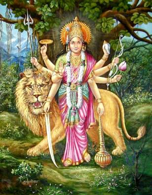 Дурга | Индийская мифология