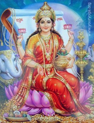 Лакшми | Индийская мифология