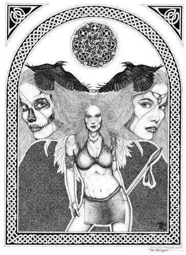 Маха | Кельтская мифология