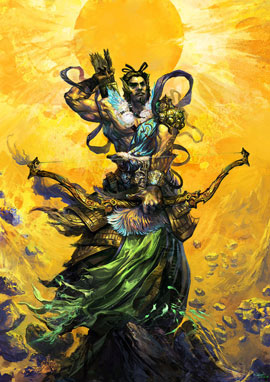 Хоу И (Стрелок И)   Китайская мифология
