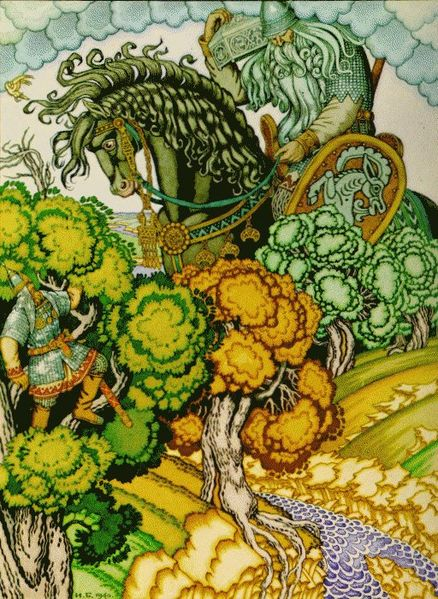 Святогор | Славянская мифология