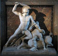 Тесей   Греческая мифология