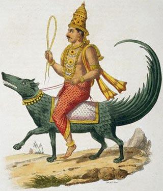 Варуна   Индийская мифология